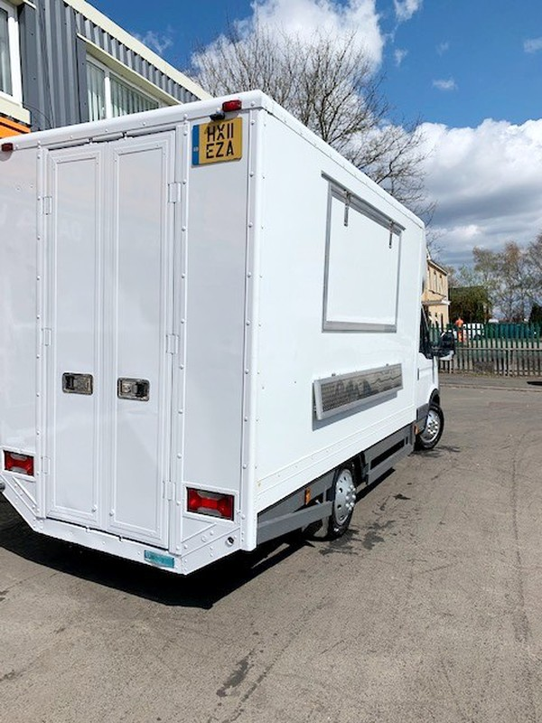 Catering Van with large serving hatch