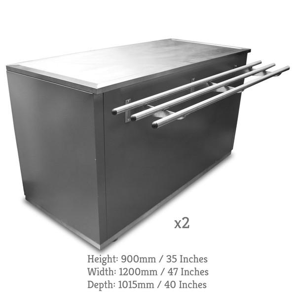 Canteen counter set