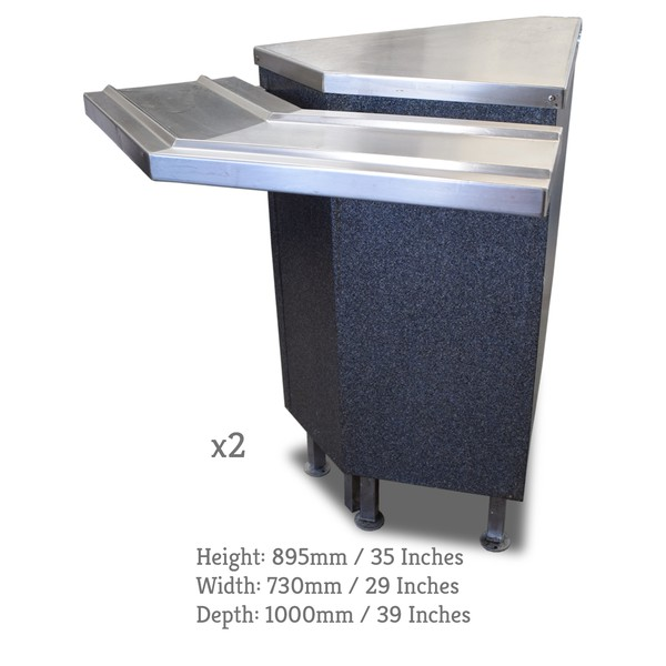Ambient canteen counter