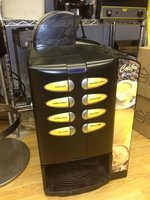Automatic Vending Coffee Machine with Built in Coffee Grinder for Sale