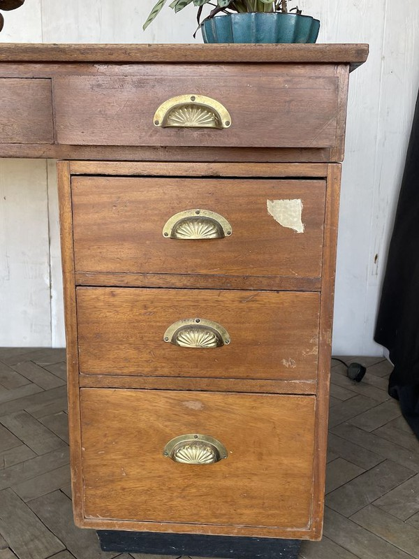 Drawers of Wooden Desk