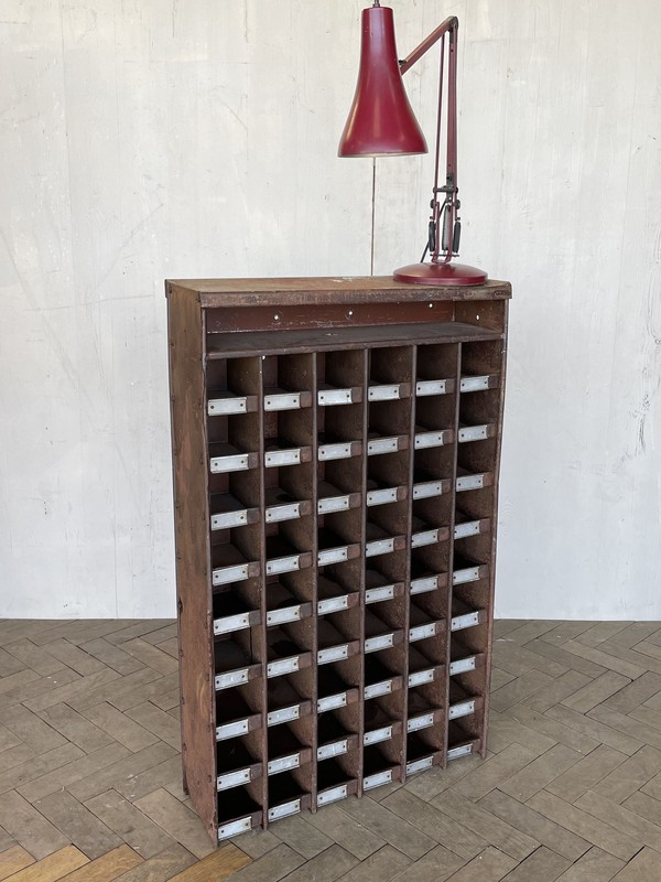 Industrial Pigeon Hole Cabinet circa 1940