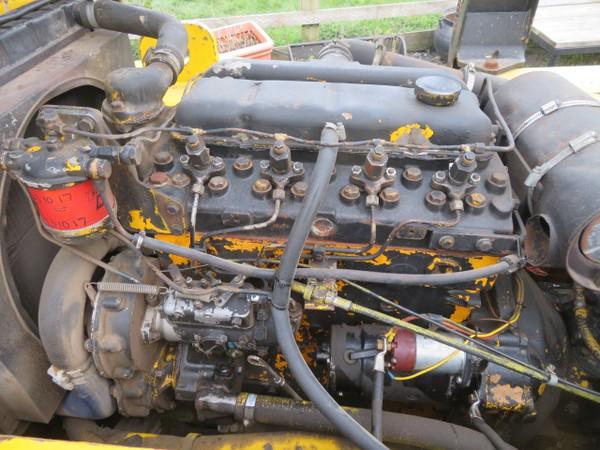 Hyster Diesel Forklift Truck Engine