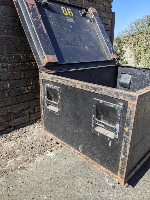 Used storage boxes for sale