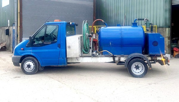 Fort Transit Vacuum Tanker / toilet service truck