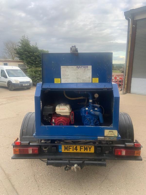 Honda GX Electirc start engine and MEC vacuum pump