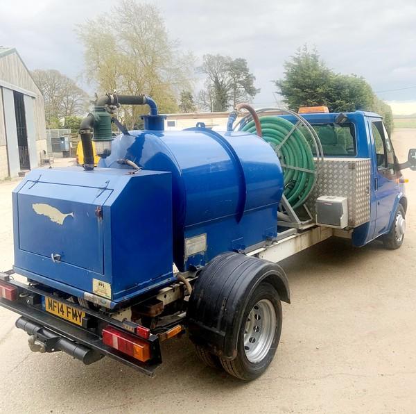 Rapide Vacuum tank truck 3.5T for sale