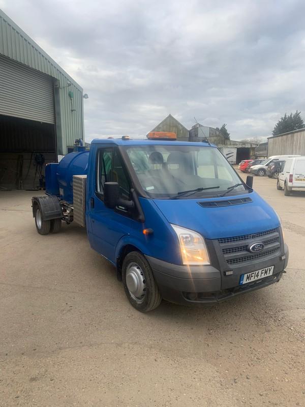 Used toilet service van for sale