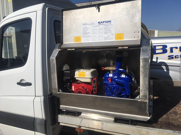 Rapid Vacuum tank for sale