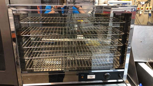 Counter top heated display for sale