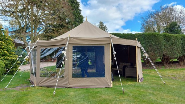 Social distancing marquees for sale