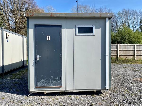 Gents toilet block cabin for sale