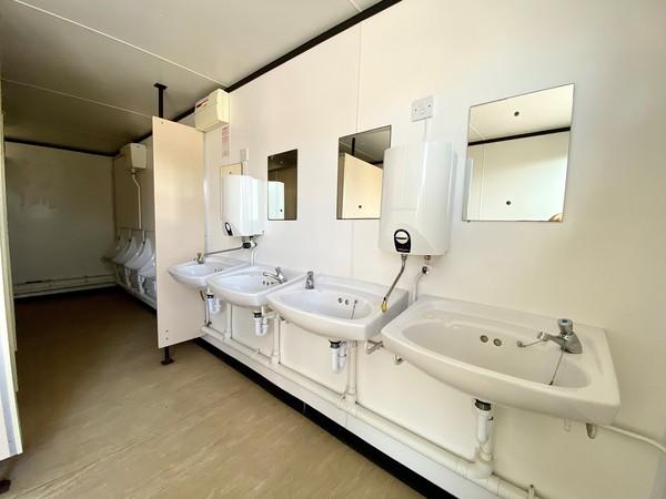 Gents toilet block for sale