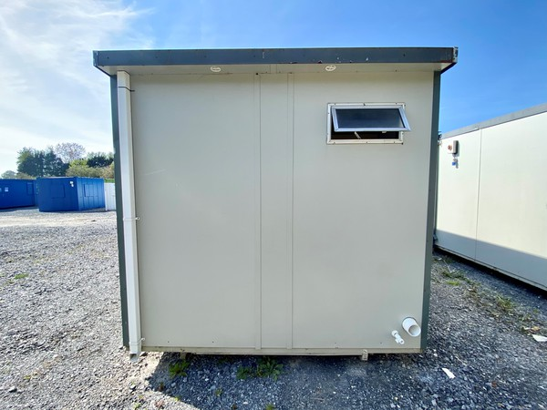 Mains connected toilet cabin for sale