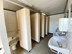 5 bay Toilet block for sale