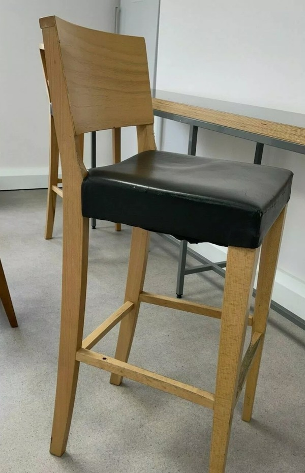 Wooden High Bar Stools for sale