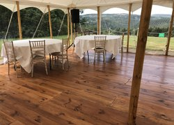 Pine Wood Marquee Flooring