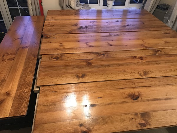 Pine Wood Marquee Flooring Joined