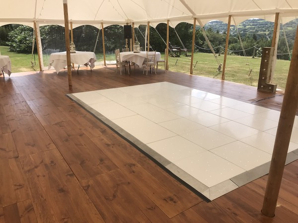 Pine Wood Marquee Flooring for sale