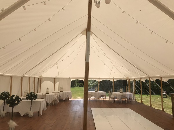 Pine Wood Event Tent Flooring