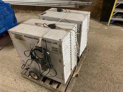 2 LB White Premier 170 heaters