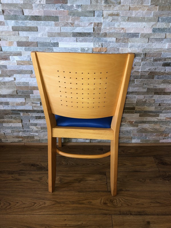 Light Wood restaurant cafe chairs