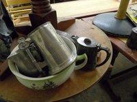 Metal Jugs and pots