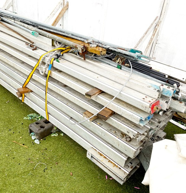 Aluminium framed marquee for sale 15m x 25m Roder Germany