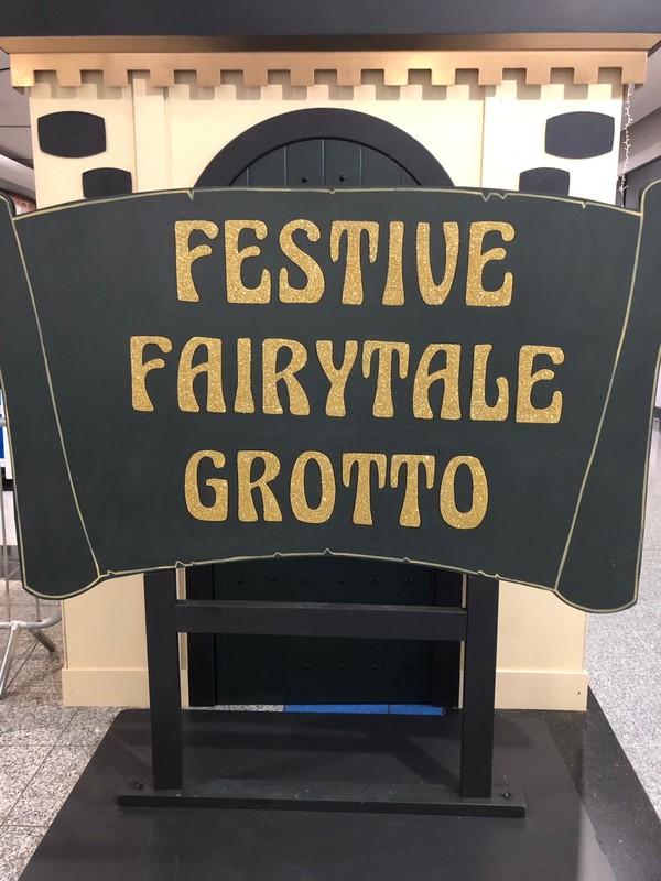 Festive Fairytale Grotto