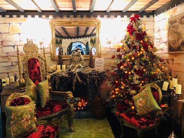 Santa Clause Christmas Chair