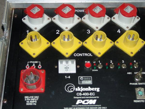 C Form 3 Phase input 16 amp