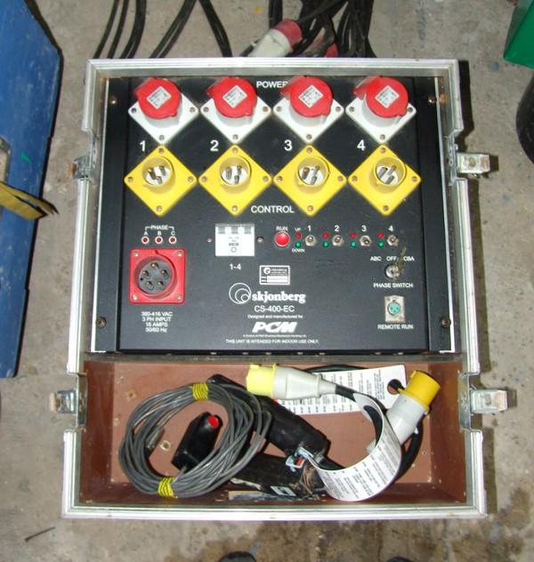 Stage winch / hoist controller