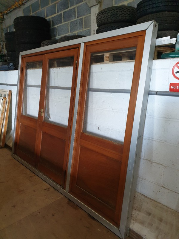 Marquee doors for 3m bay