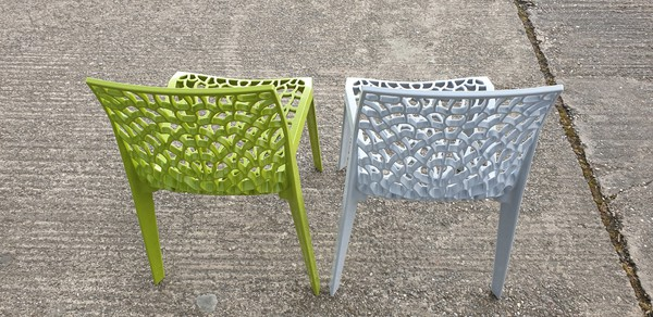 Bistro stacking chairs for sale