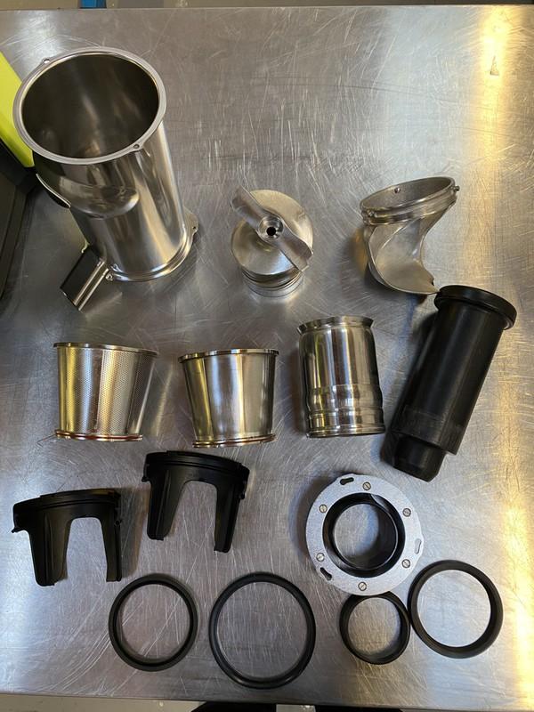 Santos Juicer 65a spare parts for sale