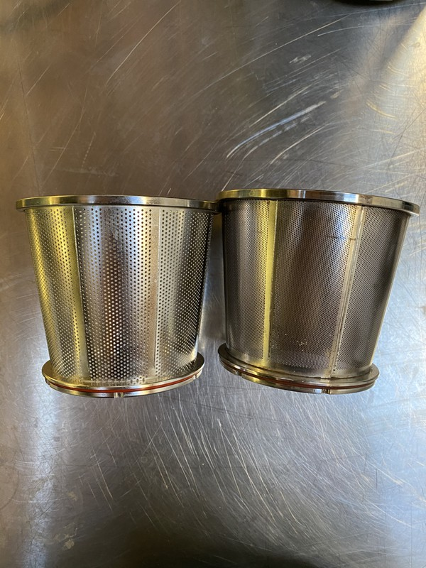 wider hole sieve to make purées