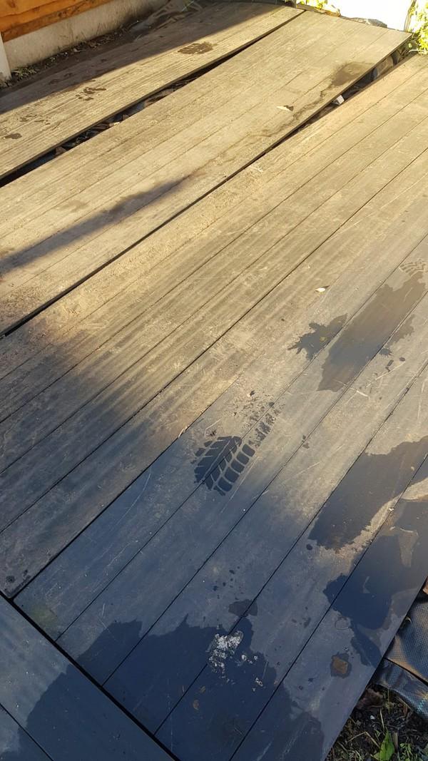 "Plastic ""Wood Floor"" Marquee flooring"