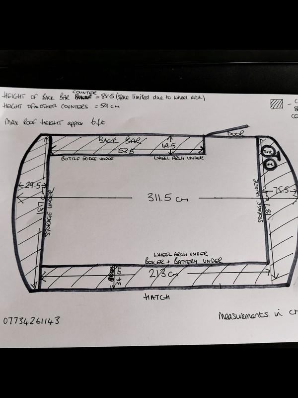 Plan of English Caravan Company Conversion