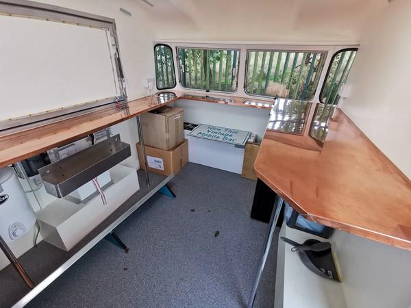Caravan Bar conversion