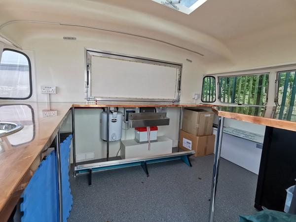 Converted Caravan Bar