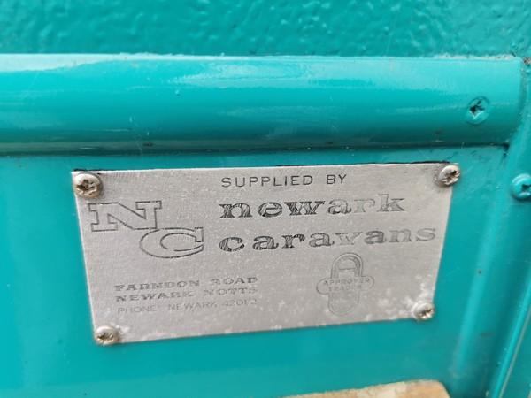 Rare Viking Fibreline Caravan
