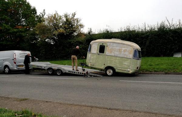 English Caravan Company Conversion
