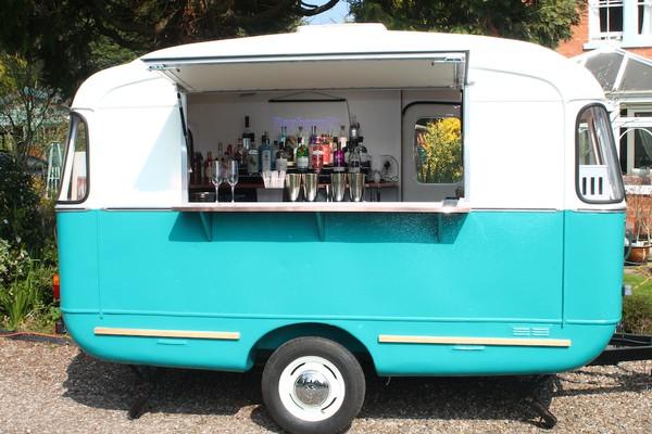 1966 Viking Fibreline Converted Caravan Bar