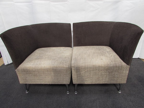 10x Corner Chair with Stool (CH170 & ST018) - Sussex 3