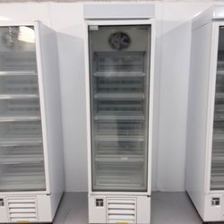 Used Fosters display freezer
