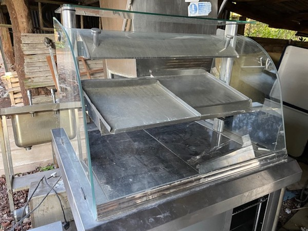 Nuttall Heated Servery Counter Display / Serve Over