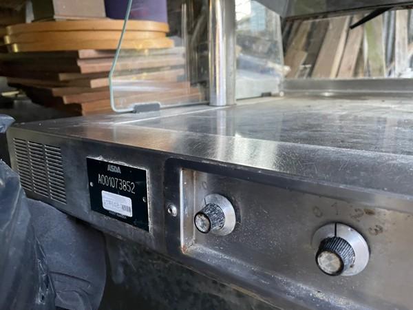 Ex Asda Nuttall Heated Servery Counter Display / Serve Over