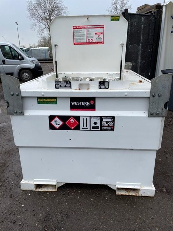 Bunded fuel bowser for sale