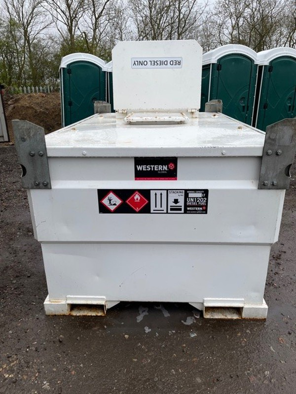 Western Trans Cube fuel bowser for sale