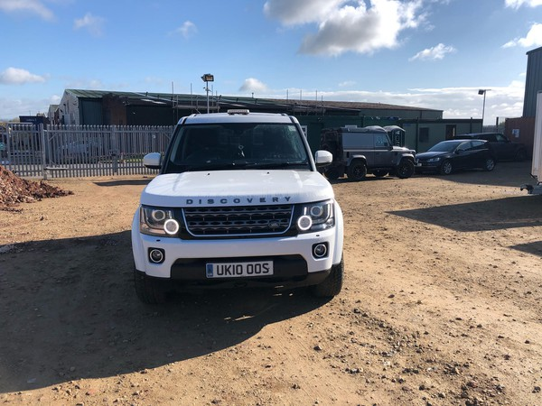 Discovery 4 with tow bar for sale